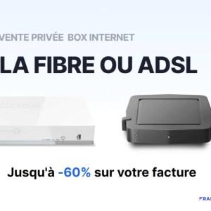 Économisez jusqu'à 60 % sur votre facture avec cette vente privée Fibre/ADSL