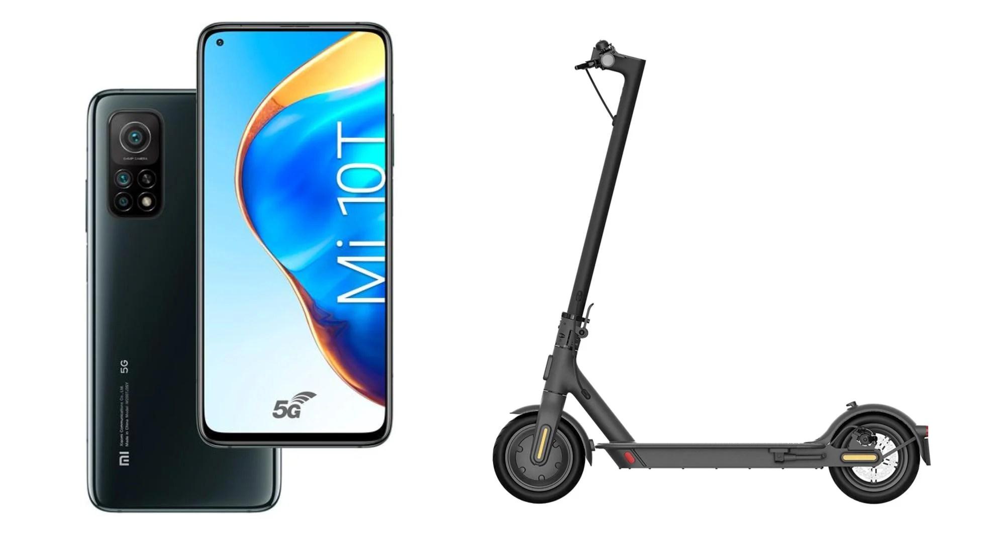 Les Xiaomi Mi 10T et Mi 10T Pro, en précommande, s'accompagnent d'une trottinette offerte