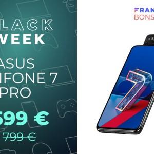 Avec 200 € en moins, le prix du Asus Zenfone 7 Pro est plus acceptable