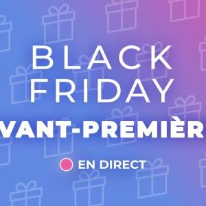 Les meilleures offres Black Friday Week de ce dimanche