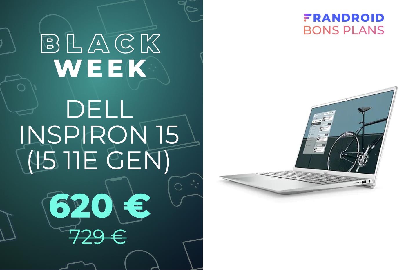 Ce PC portable équipé d'un i5 11e gen chute au bon prix de 620 euros