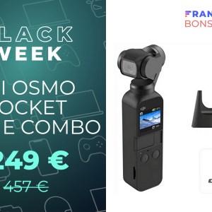 La DJI Osmo Pocket Prime Combo avec accessoires et Care Refresh est à -46%!