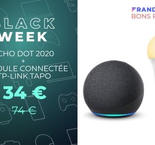 Le nouveau Echo Dot avec une ampoule connectée pour moins de 35 €