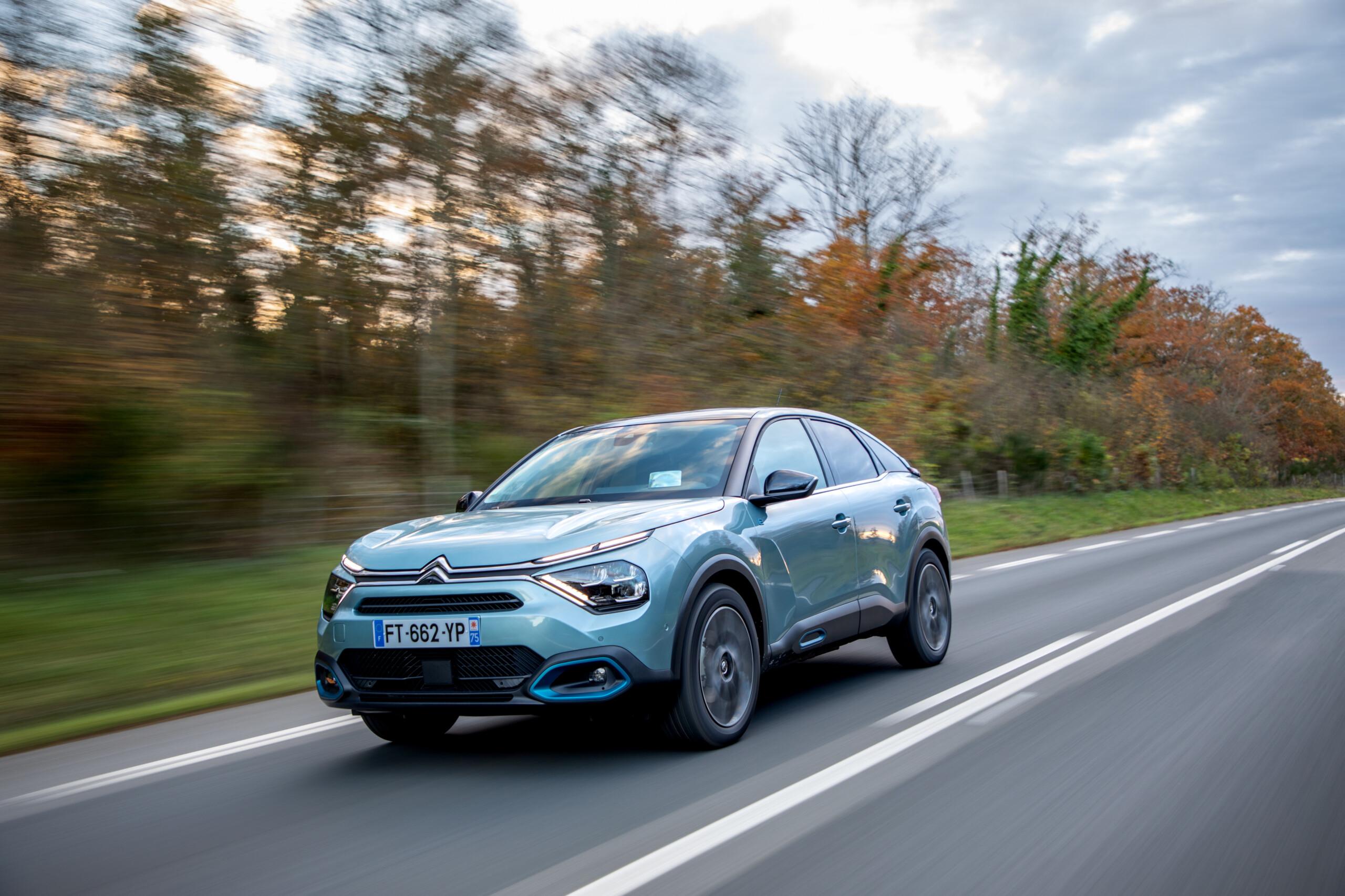 Essai de la Citroënë-C4: la plus confortable des voitures électriques?
