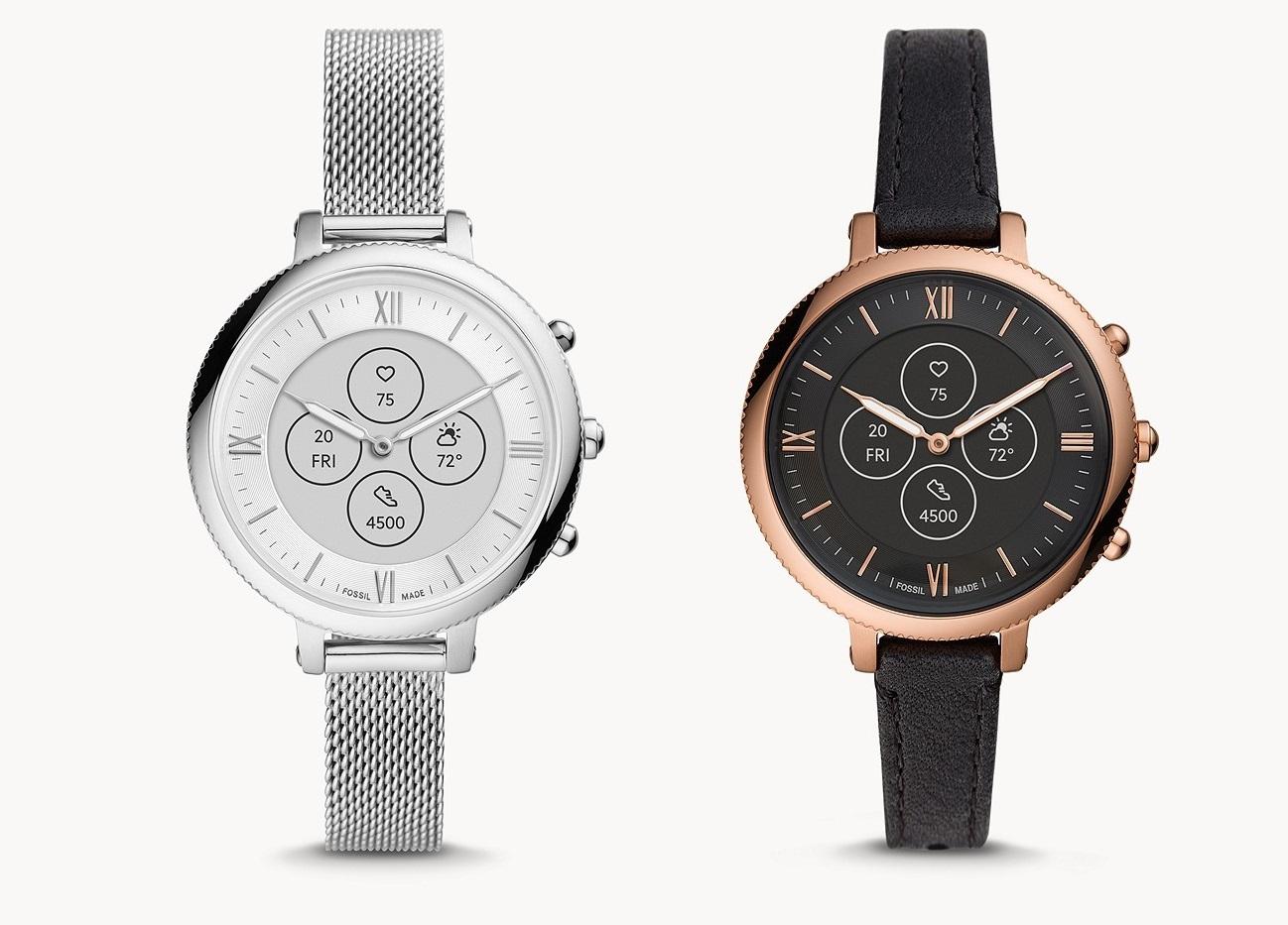 Fossil lance une version de sa montre Hybride HR pour les petits poignets