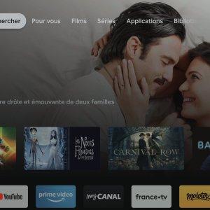 Google TV pourrait proposer des chaînes de télévision gratuite sur son interface