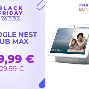 Le Google Nest Hub Max : caméra, écran, assistant… en promo au Black Friday
