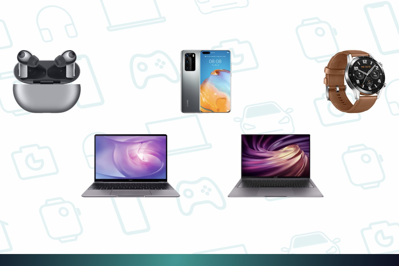 Huawei Days : Huawei lance de grosses promotions sur ses MateBook, P40 Pro ou Watch GT