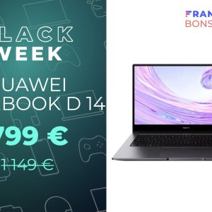 Huawei MateBook D 14 : un ultrabook i7 10e gen avec 350 € de réduction