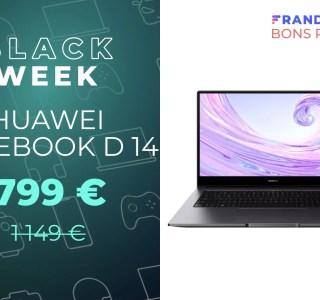 Huawei MateBook D 14 : un ultrabook i7 10e gen avec 350 € de réduction