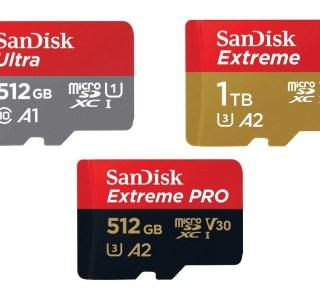 512 Go ou 1 To : toutes les microSD SanDisk sont à moitié prix sur Amazon