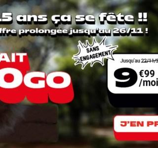 Ce forfait mobile 150 Go à 9,99 €/mois est prolongé jusqu'à jeudi