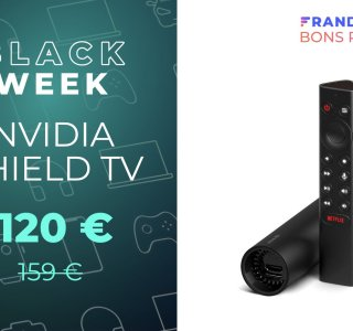 Le célèbre boîtier Nvidia Shield TV chute à 120 € via un code promo