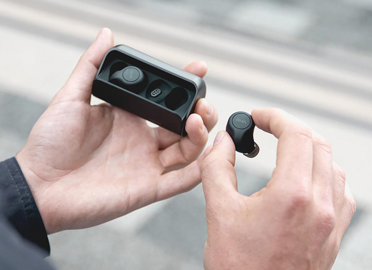 RHA lance des écouteurs à réduction de bruit compatibles Bluetooth aptX