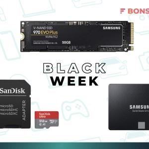 MicroSD, SSD et NVMe : voici 3 solutions de stockage à prix bas pour le Black Friday