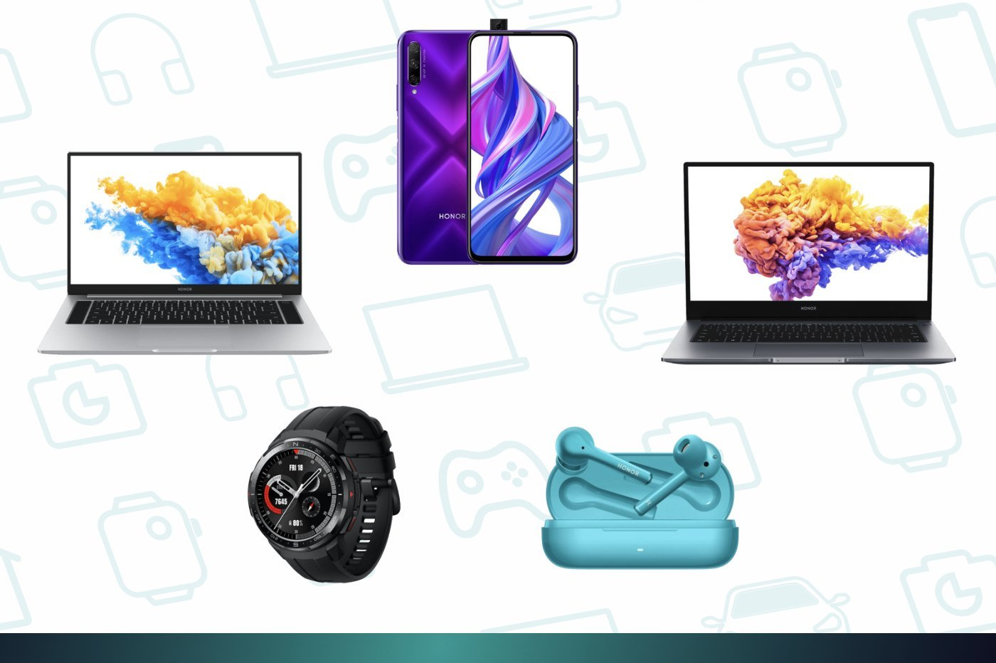 Honor Days : voici les bonnes affaires à réaliser sur les MagicBook, Honor 9X Pro ou Watch GS Pro