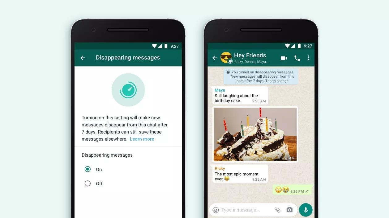 WhatsApp : c'est officiel, les messages temporaires débarquent sur l'application