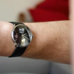 Test de la Withings ScanWatch: une montre design conçue pour prendre soin de vous