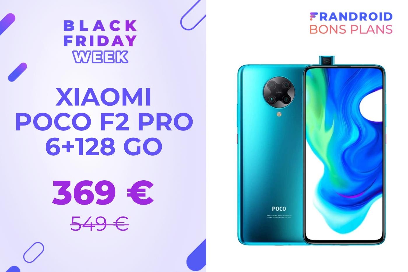 Le Xiaomi Poco F2 Pro n'a jamais été aussi abordable que pendant le Black Friday