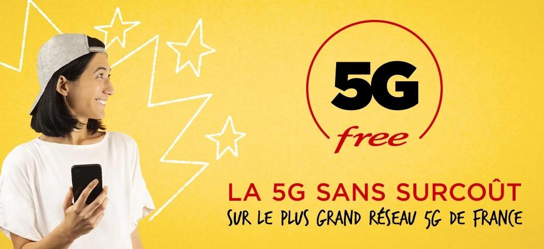 Free Mobile : le forfait illimité passe à la 5G et c'est gratuit