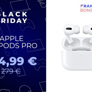 Les excellents AirPods Pro d'Apple chutent sous les 190 € pour le Black Friday