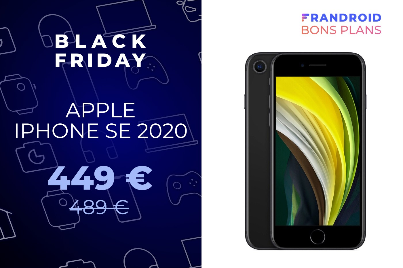 Fnac et Darty font baisser le prix de l'iPhone SE 2020 pour le Black Friday
