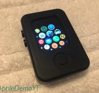 Apple Watch: des photos dévoilent l'un des premiers prototypes de la montre connectée