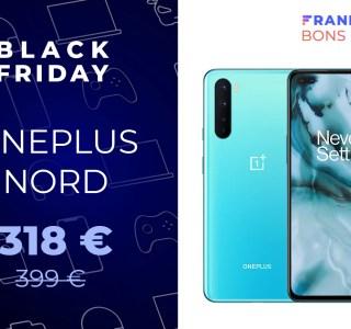 L'excellent OnePlus Nord passe de 399 à 318 € pour le Black Friday