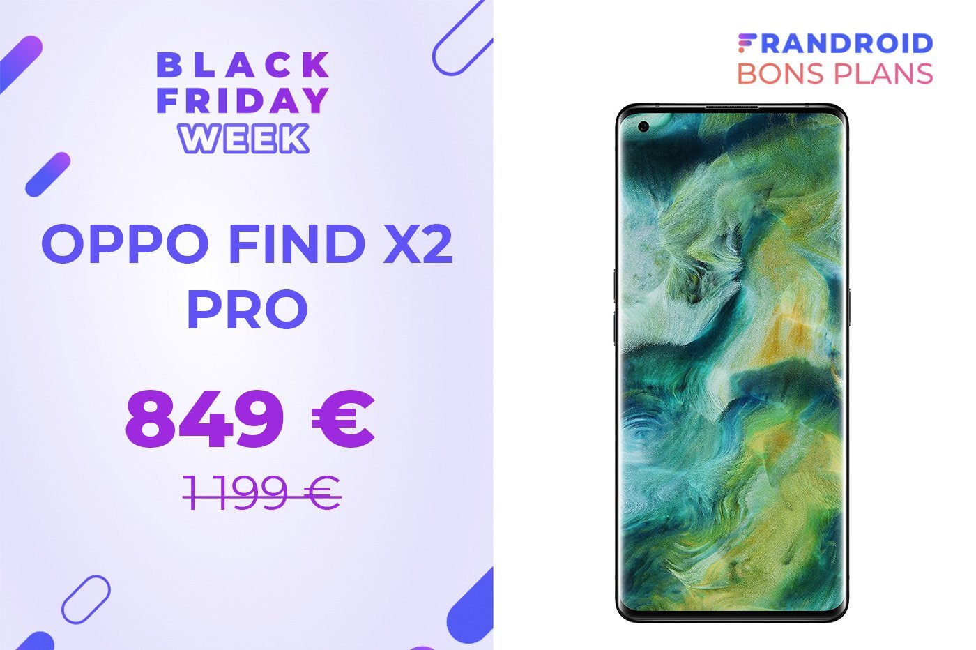 Oppo Find X2 Pro, un flagship fashion à -29 % pour le Black Friday