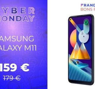 Ce smartphone Samsung ne coûte que 159 euros pendant la Cyber Week