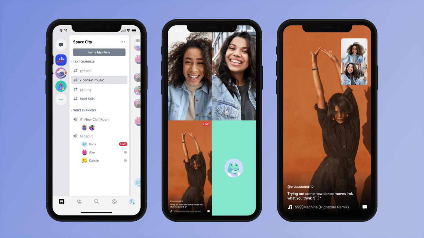 Discord propose maintenant le partage d'écran sur ses applis Android et iOS