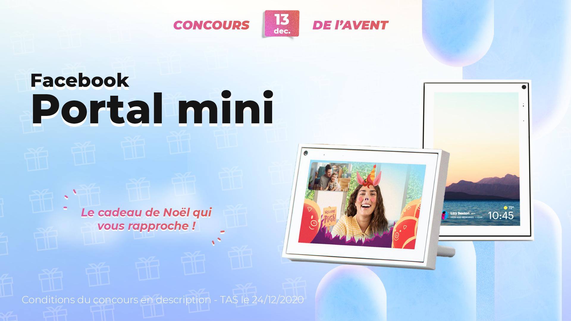 #FrandroidOffreMoi un Facebook Portal Mini