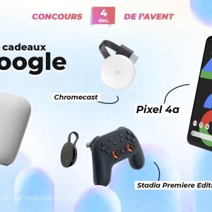 #FrandroidOffreMoi un super pack Google (Pixel 4a, Chromecast, Nest Audio et Stadia Premiere Edition)