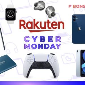 Cyber Monday Rakuten : les meilleurs produits tech à prix réduit ce lundi