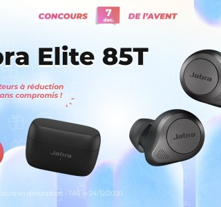 #FrandroidOffreMoi des écouteurs true wireless à réduction de bruit (Jabra Elite 85T)