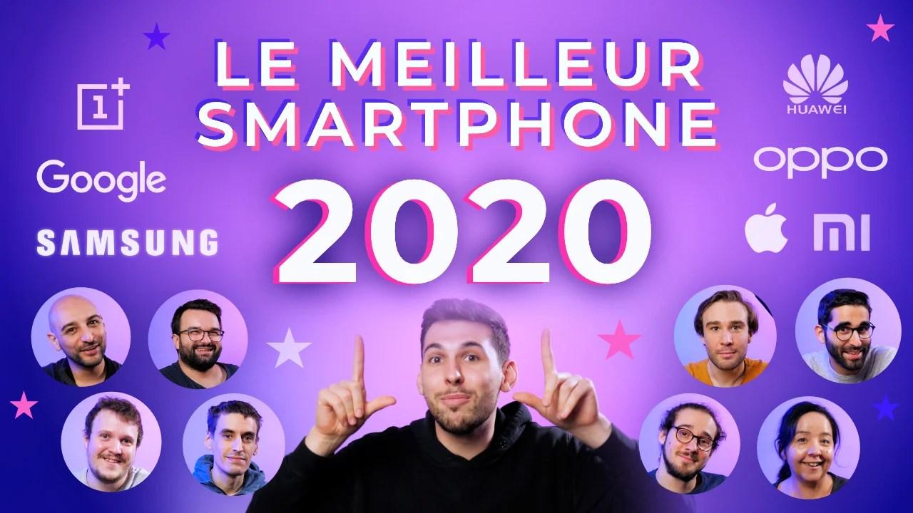 Top10 des smartphones en 2020: la sélection de Frandroid en vidéo