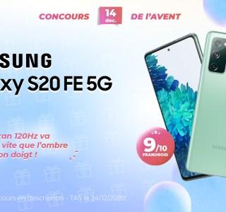 #FrandroidOffreMoi un Samsung Galaxy S20 FE 5G