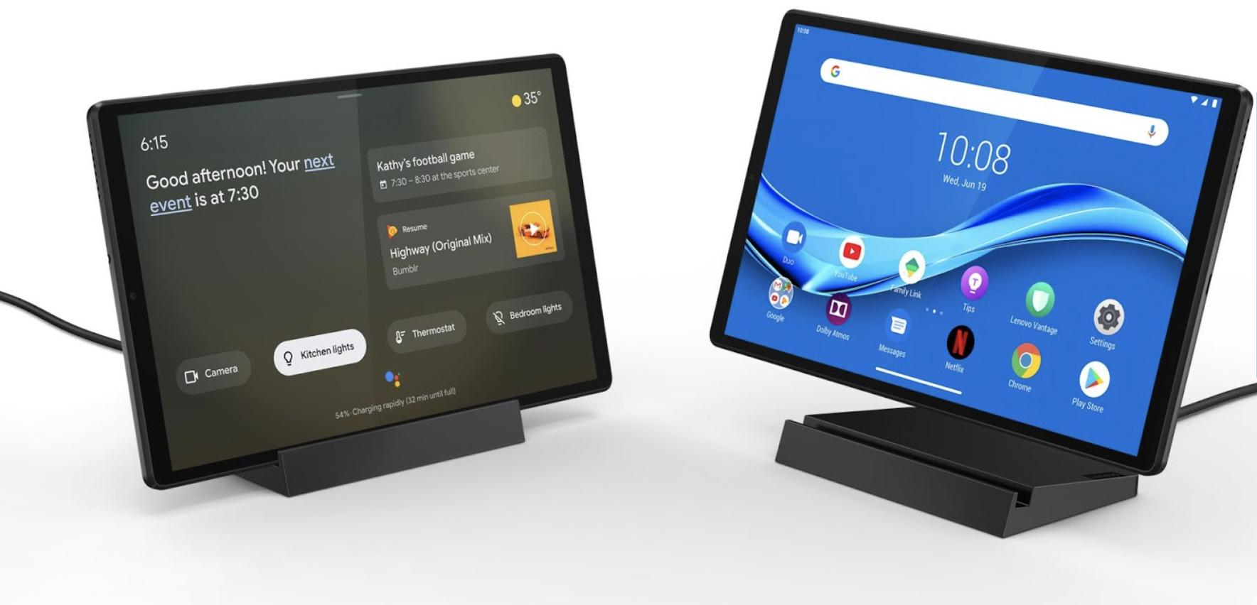 Avec ce pack, la Lenovo TabM10 Plus se transforme en station d'accueil intelligente
