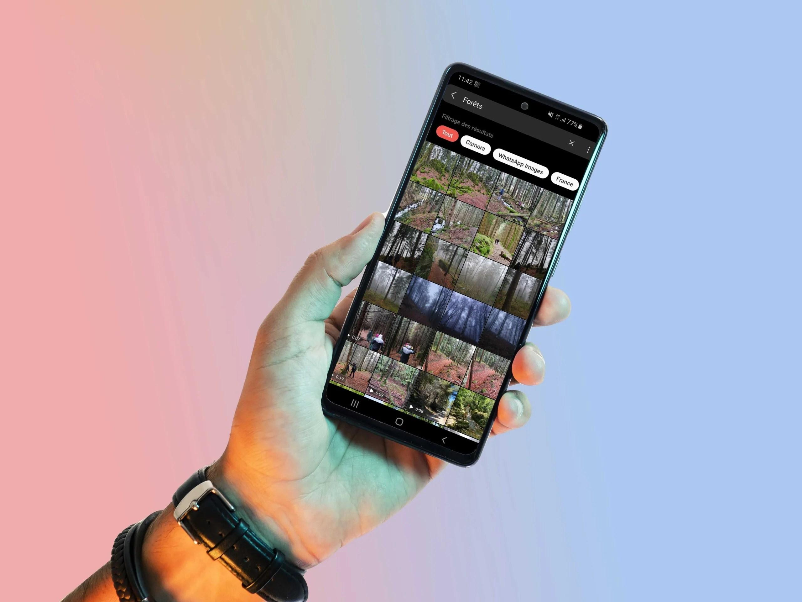 Comment trier et stocker ses photos sur son smartphone Galaxy?