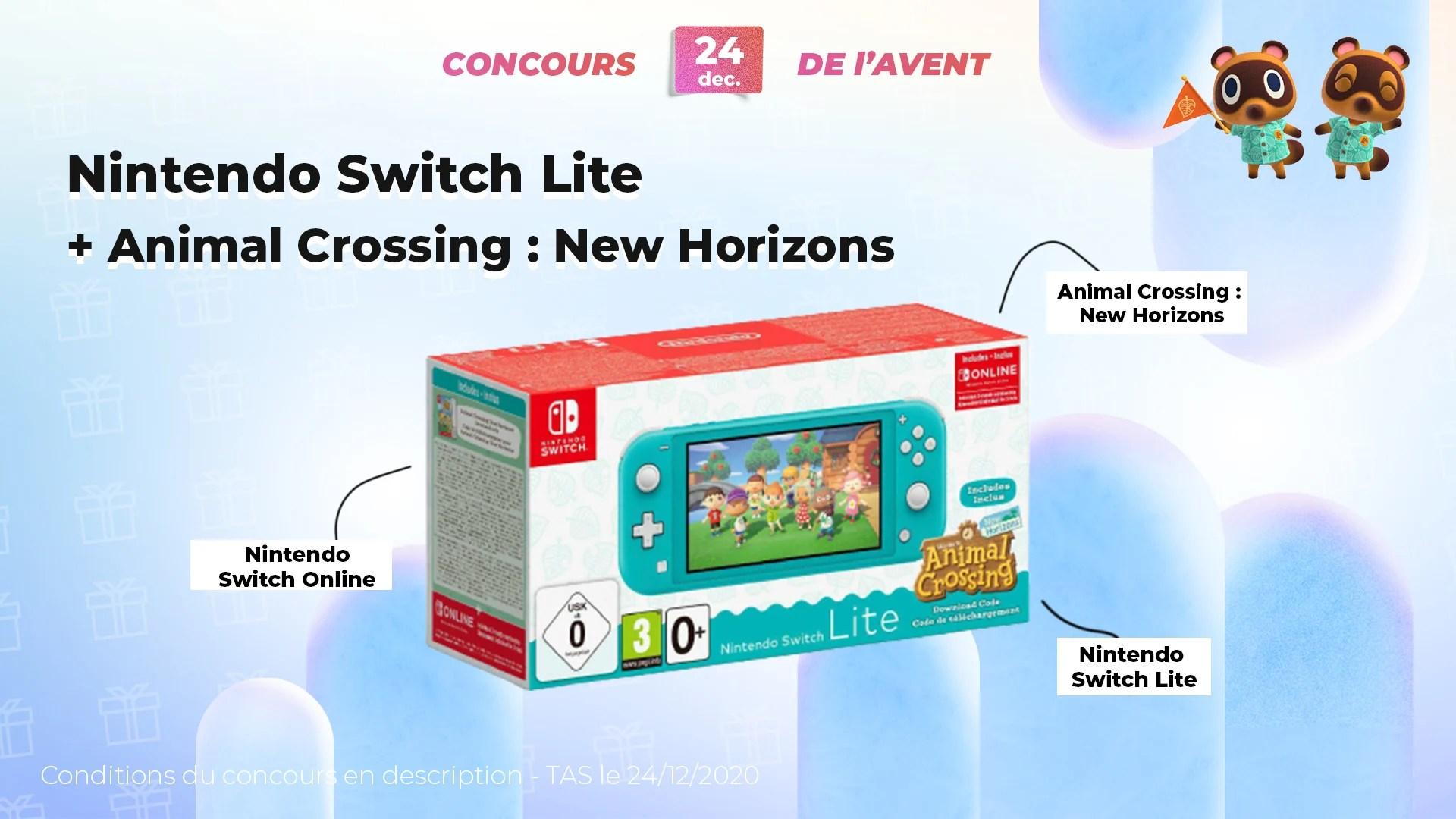 #FrandroidOffreMoi une Nintendo Switch Lite et Animal Crossing