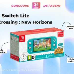 #FrandroidOffreMoi une Nintendo Switch Lite et Animal Crossing
