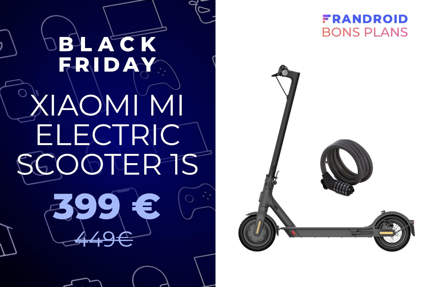 La trottinette Xiaomi Mi Electric Scooter 1S perd 50 € pour le Black Friday