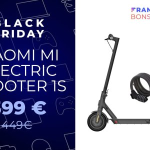 La trottinette Xiaomi Mi Electric Scooter 1S perd 50 € pour le Black Friday