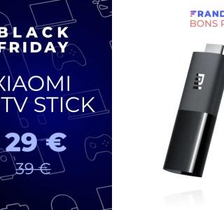 Le Xiaomi Mi TV Stick fait son retour en promotion pour le Black Friday