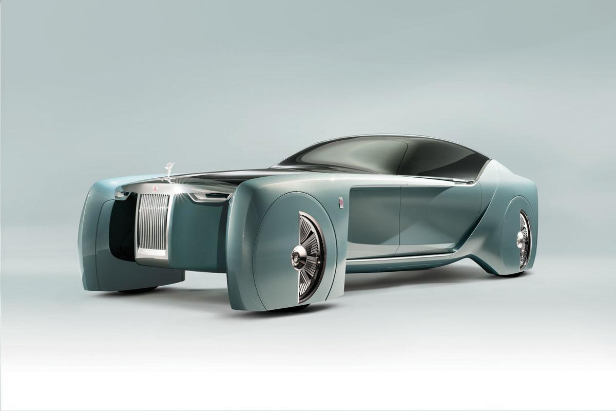 Rolls-Royce «Silent Shadow»: sa première électrique s'inspirerait d'un concept futuriste
