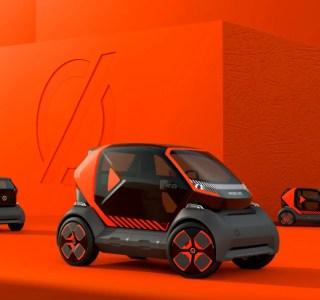 Renault EZ-1 Prototype : cette biplace électrique veut booster l'autopartage en ville