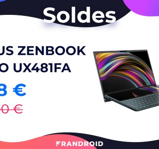 Asus ZenBook Duo : ce laptop équipé de 2 écrans passe sous les 1 000 €