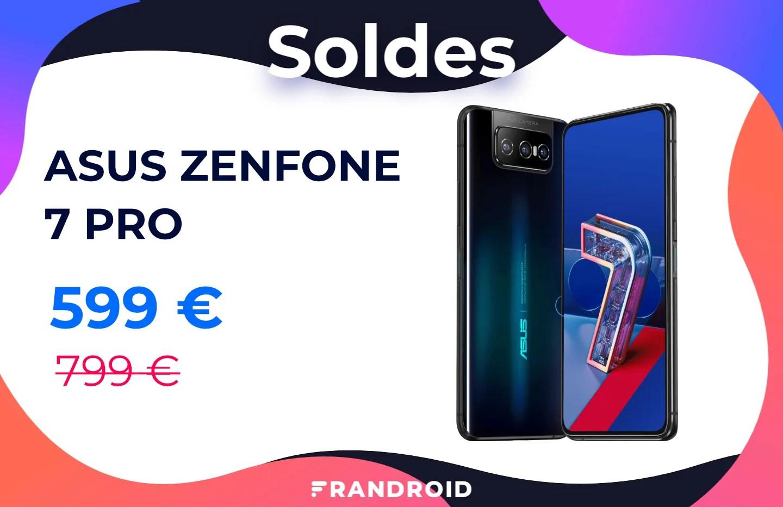 Asus Zenfone 7 Pro : il est de retour pour les soldes avec 200 € de réduction