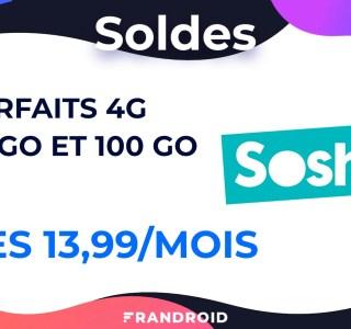 Sosh fait aussi les soldes avec deux nouveaux forfaits mobile : 60 et 100 Go