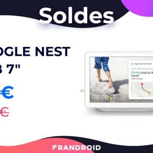 Le Google Nest Hub est à moins de 60 euros pour les soldes 2021